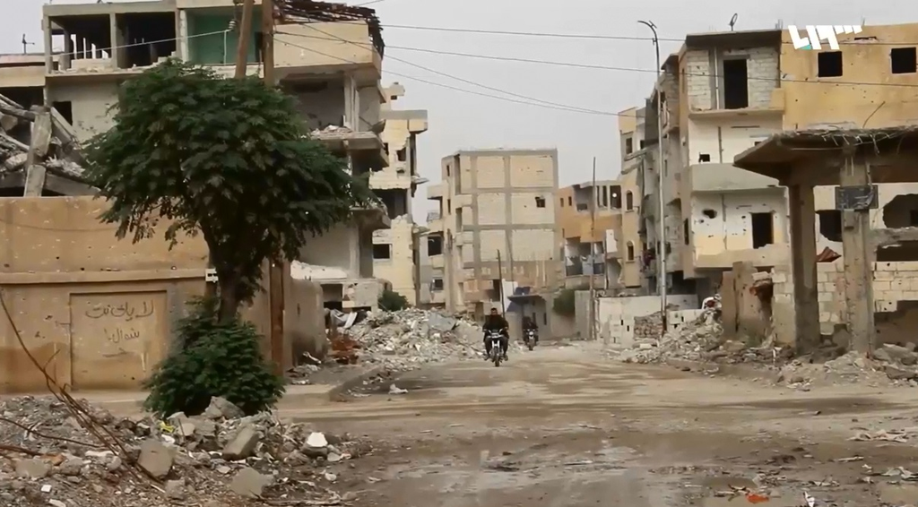 Tour Of The Yarmouk Camp January 2019 Southern Damascus Syria