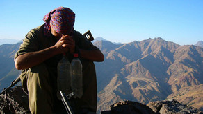 PKK guerrillas targeting Turkish military in Southeast Turkey and Northern Iraq