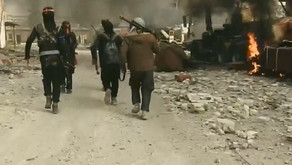 Jihadist attack on a military base in Harasta - Eastern Damascus | March 2017 | Syria