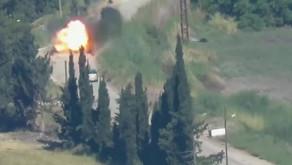 Jihadists using Anti-Tank Guided Missiles (ATGMs)   May 18th 2019   Idlib Front, Syria