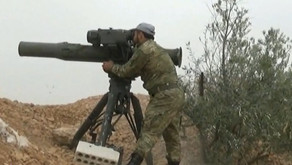 Jihadists using guided missiles | October 2016 | Syria