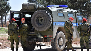 Russian Military Police patrolling newly liberated Eastern Aleppo | January 2017
