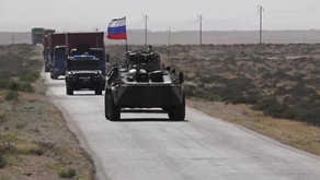 First Russian humanitarian convoy to Hasakah province | May 2020 | Syria