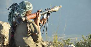 PKK guerrilla attacks on Turkish forces   July 2019   South Turkey - Northern Iraq