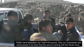 Conversations with white and fluffy jihadists | December 10th 2016 | Aleppo, Syria