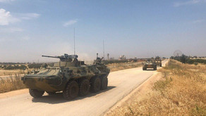 19th joint Russian-Turkish patrol of M4 highway in Idlib | July 7th 2020 | Syria
