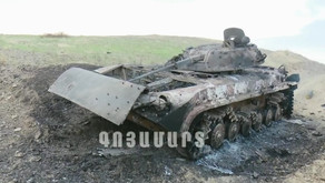 Footage from the latest escalation of the Nagorno Karabakh conflict between Armenia and Azerbaijan