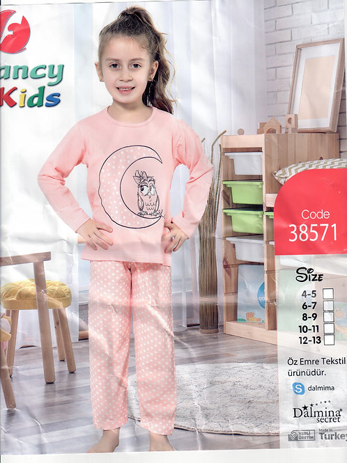 Girl's Pajama Set L/S