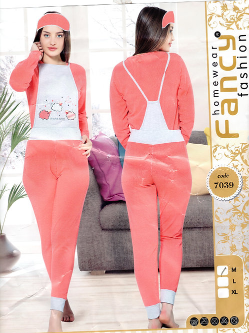 Ladies Jumpsuit L/S