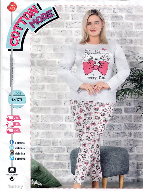 Ladies Pajama Set L/S