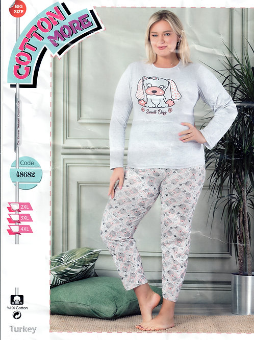 Ladies Pajama Set L/S