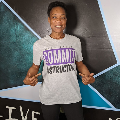 CTY COMMIT Instructor Tee - Grey