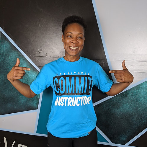CTY COMMIT Instructor Tee - Teal