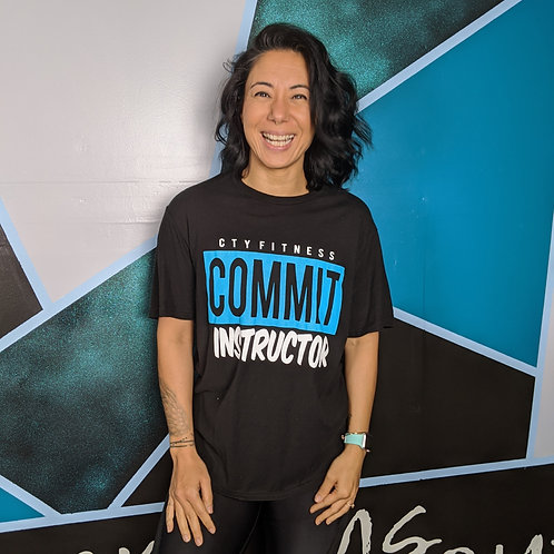 CTY COMMIT Instructor Tee - Black