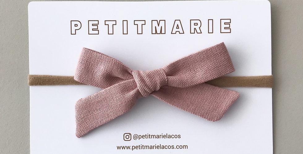 Laço Paris M// Linho rosé nude