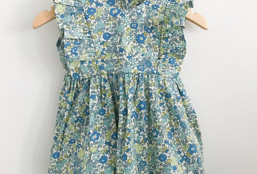 Vestido babados // Garden Azul