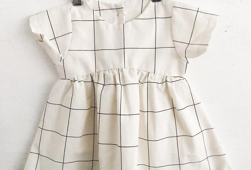 Vestido // xadrez quadriculado