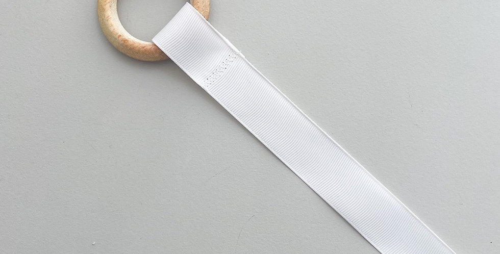 Porta laços // off white