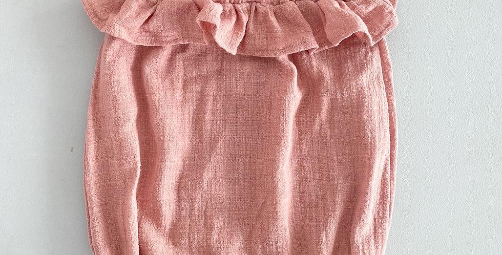 Romper // rosa queimado