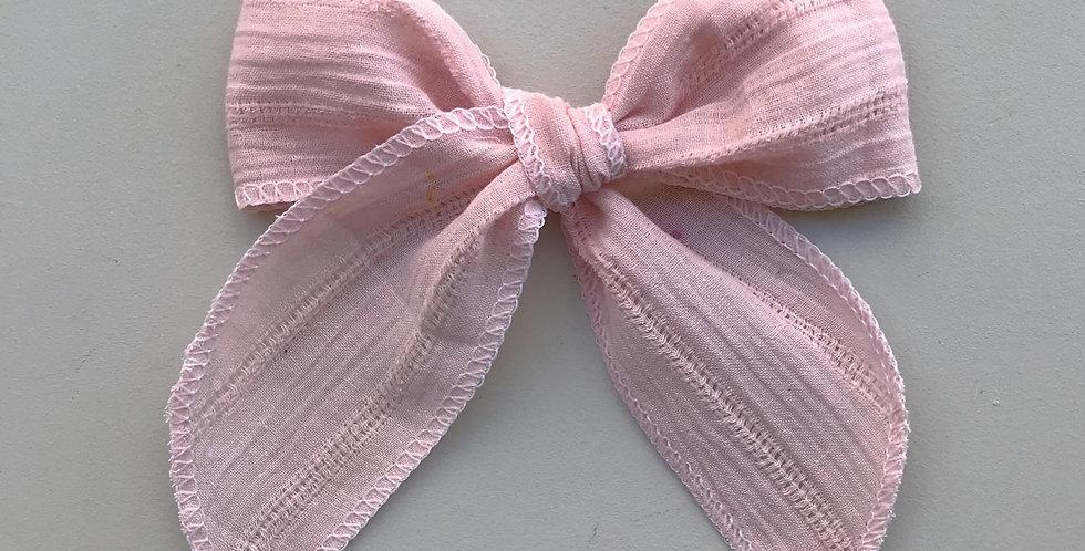 Laço Maxi // rosa cotton