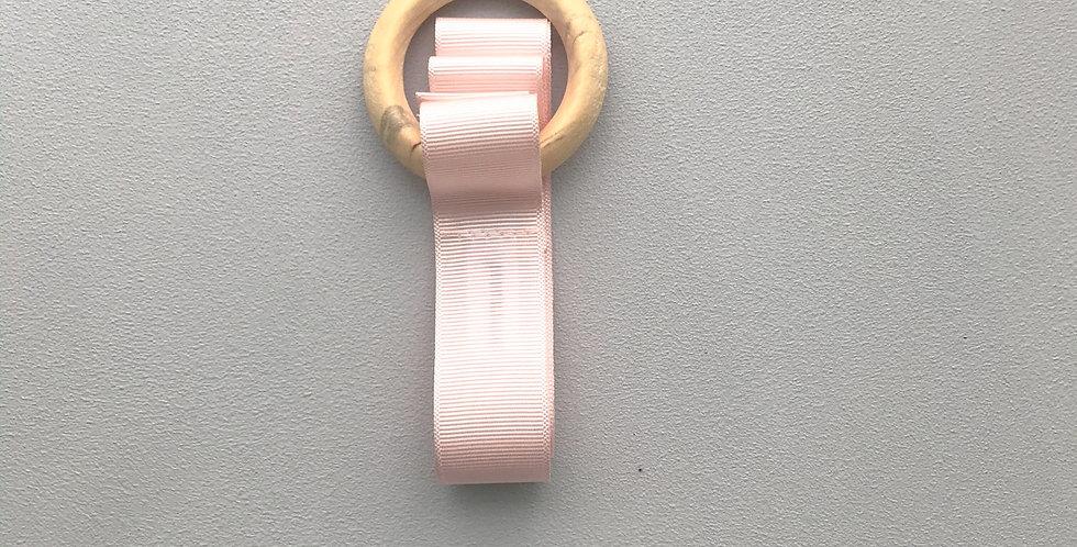 Porta laços // rosa blush