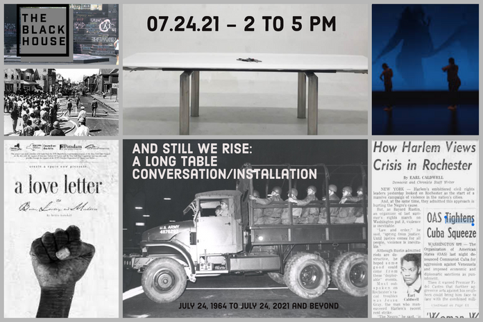 And Still We Rise: A Long Table Conversation/Installation