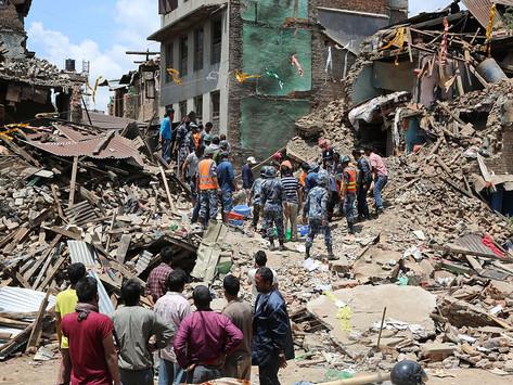 Devastating Earthquakes in Nepal