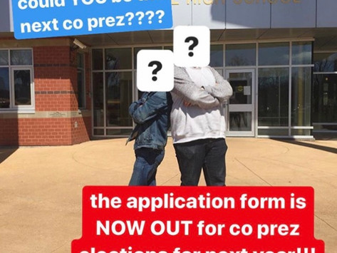 Co-Prez Elections - Let's get Down to it!