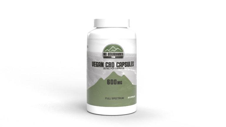 Vegan CBD Capsules (600mg)