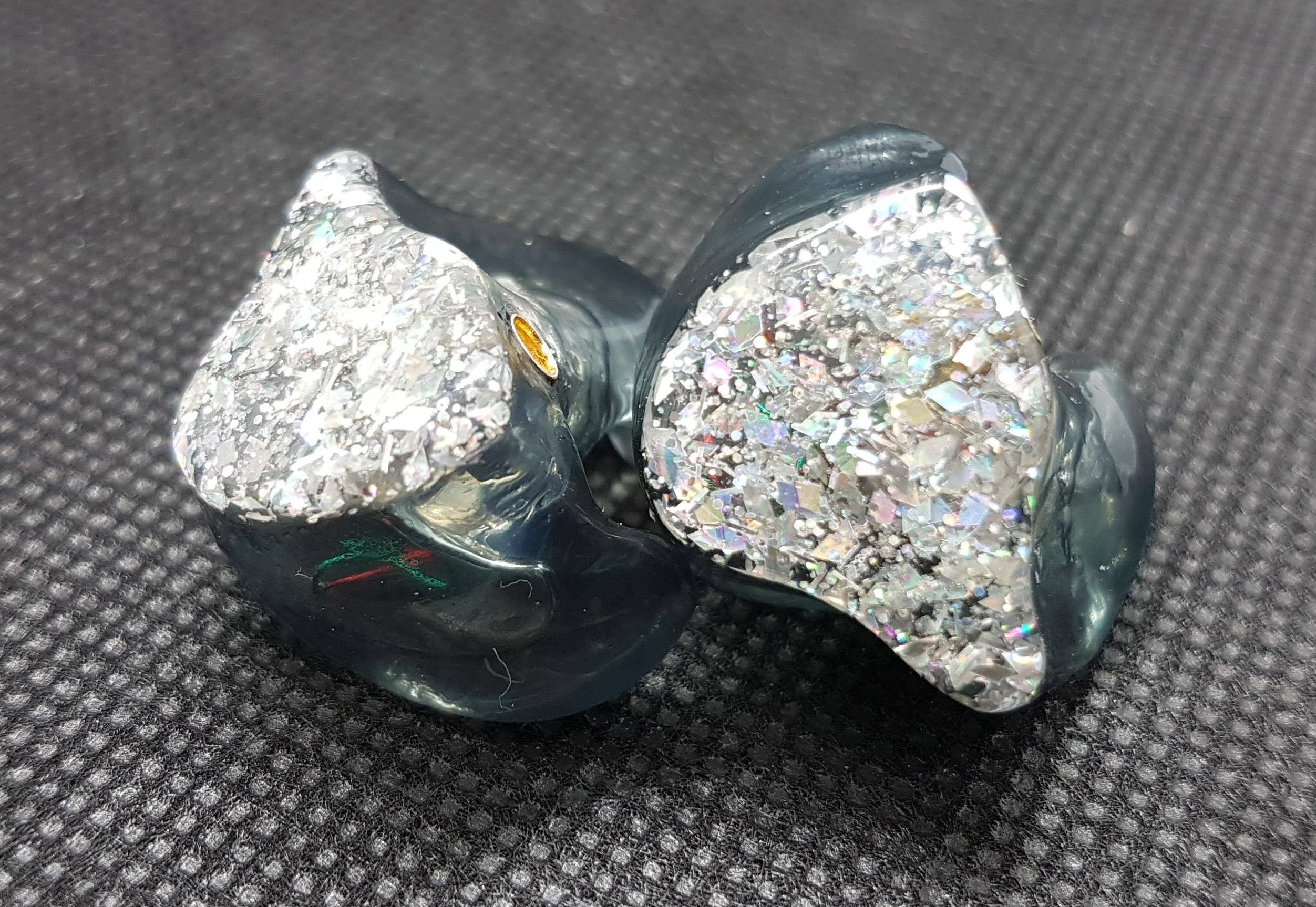 Silber - Glitzer