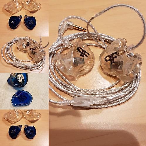 Umbau von vorhandenen In-Ears in angepasste Schalen
