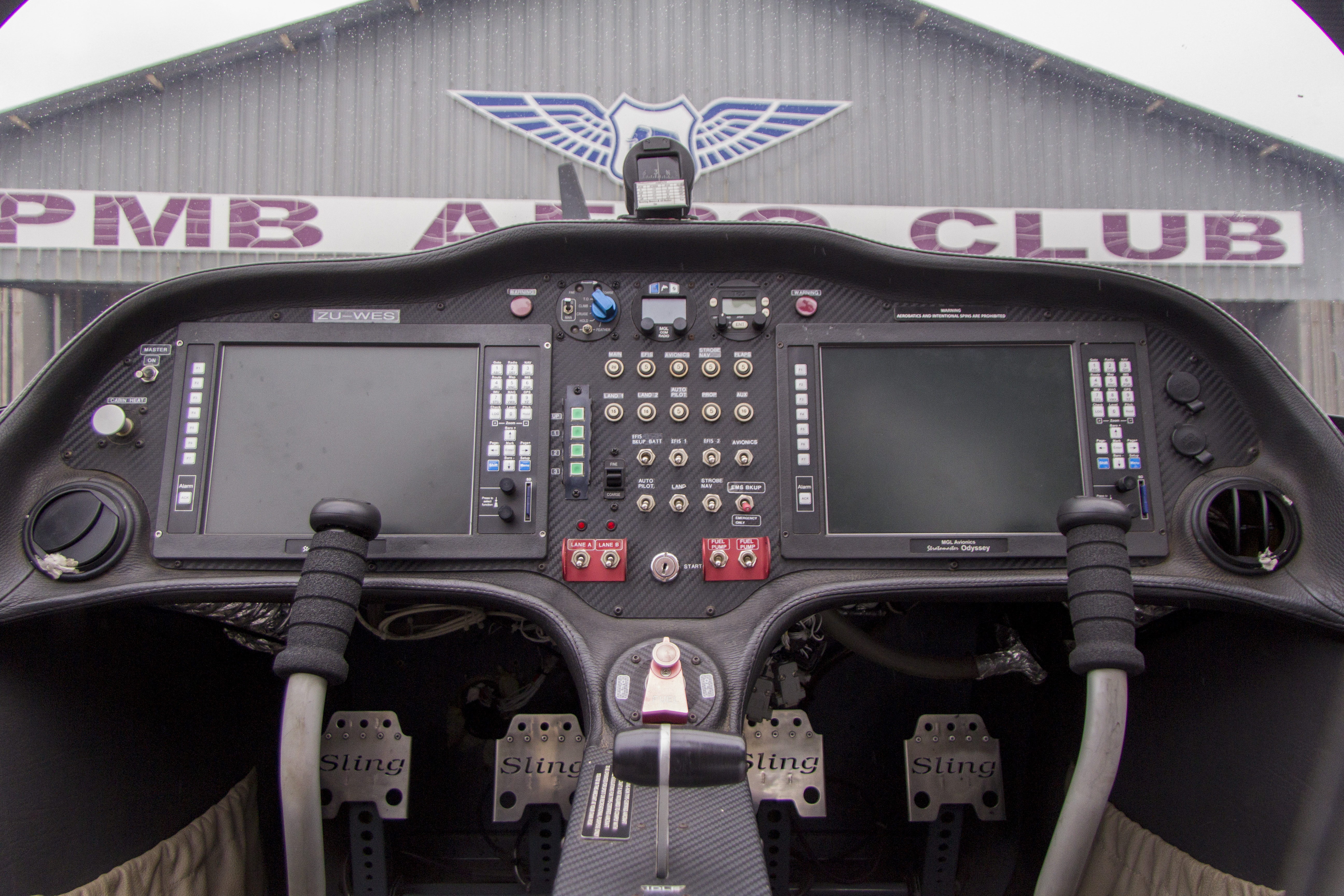 ZU-WES control panel