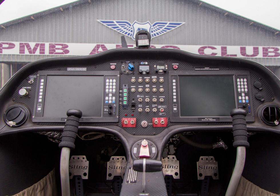 ZU-WES dashboard