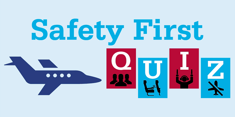 Safety Meeting & Quizz Night
