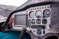 ZU-SAA's Control Panel