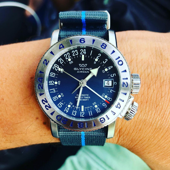 Something to be proud of: Glycine Airman 18
