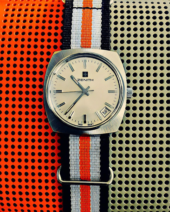 Vintage Inspired: The Zenith Surf Cal 2572PC