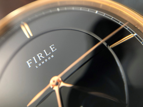 Who says that dress watches shouldn't be bold?: the Firle Sennen Automatic