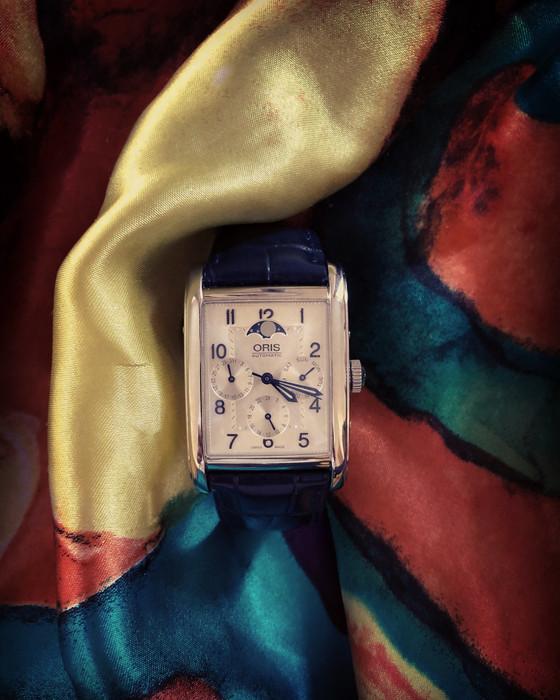 A work of art from a romanticbrand: the Oris rectangular complication