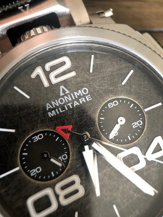 An old world chronograph for the modern wrist - The Anonimo MIlitare Chrono