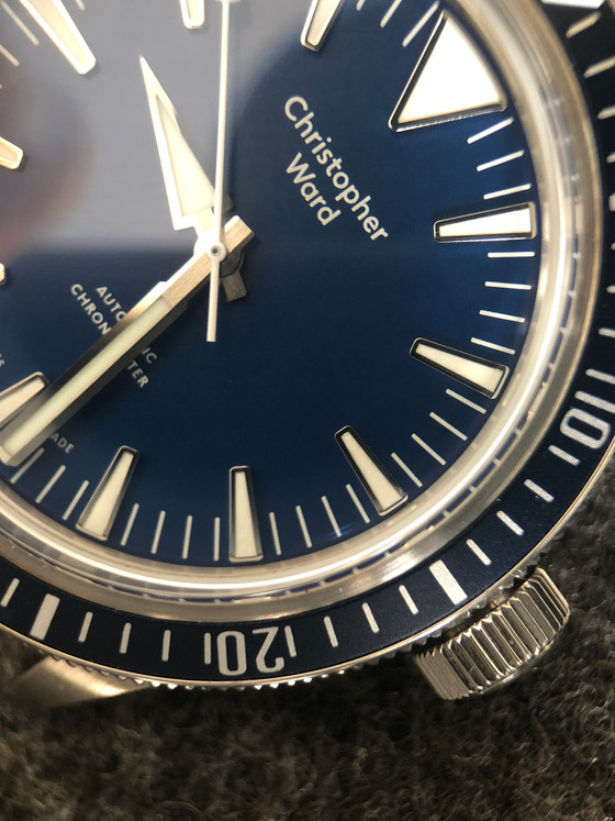 Blue and retro inspired, The Christopher Wards C65 Dartmouth