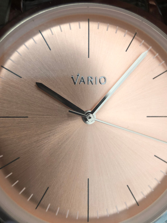 Why are salmon dials so hot right now? The Vario Eclipse and its subtleness