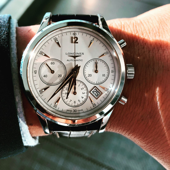 When does a nuance becomes a snobbery? Enter the Longines Column Wheel Chronograph