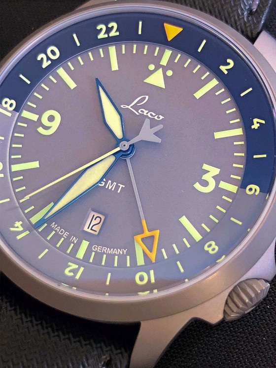 Why GMT watches are better when they come from a brand with aviation heritage: The Laco Frankfurt GM