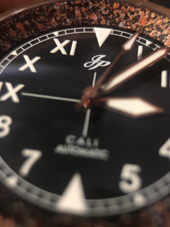 A tailored made field watch - JP Custom Splatter series