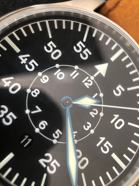 The Flieger B Dial, an evolution of a classic - The Stowa Baumuster B