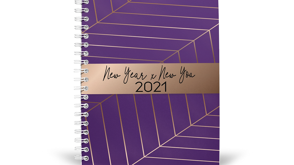2021 New Year x New You Planner -Royal Purple