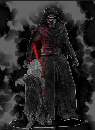 turning rose into a sith...