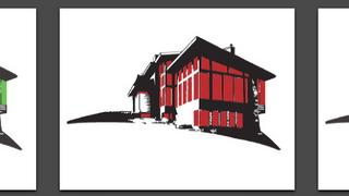 logo design in progress