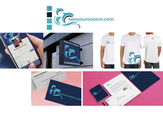 keepour oceans.com - final logo and usage options